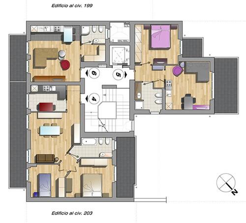 Realizzazione a milano mi progettazione d interni for Interni e progetti